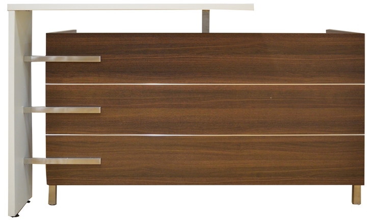 Empire Reception Counter in Dark Oak - OUT OF STOCK