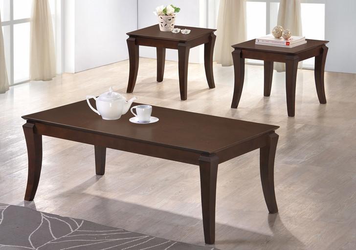 Surrey Coffee Table + 2 Stools - Ant Oak