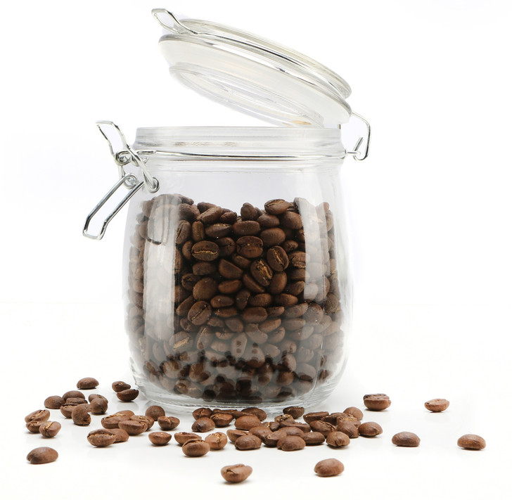 Retro Glass Jar With Clip Lid 750ml - OUT OF STOCK