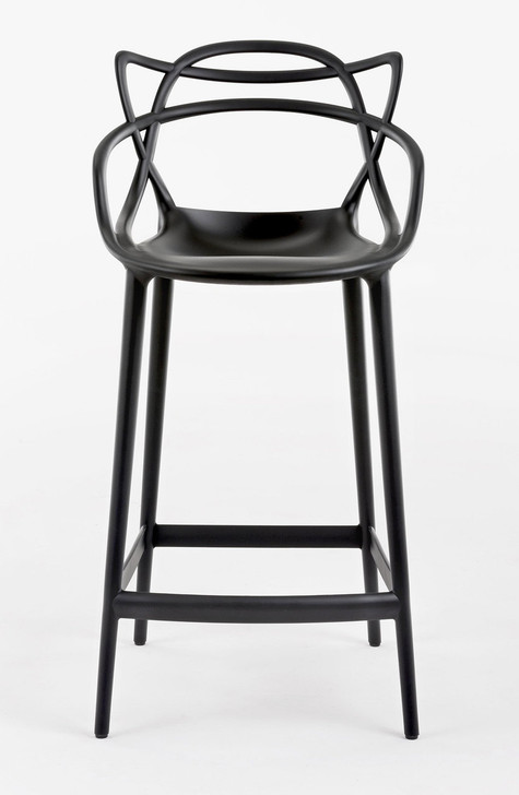 Masters Bar Chair in White
