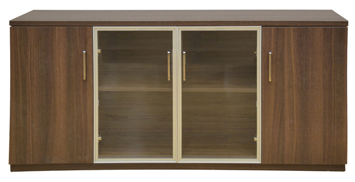 Staten 1.6m Credenza In Dark Oak - OUT OF STOCK