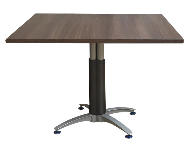 Empire Square Conference Table In Dark Oak