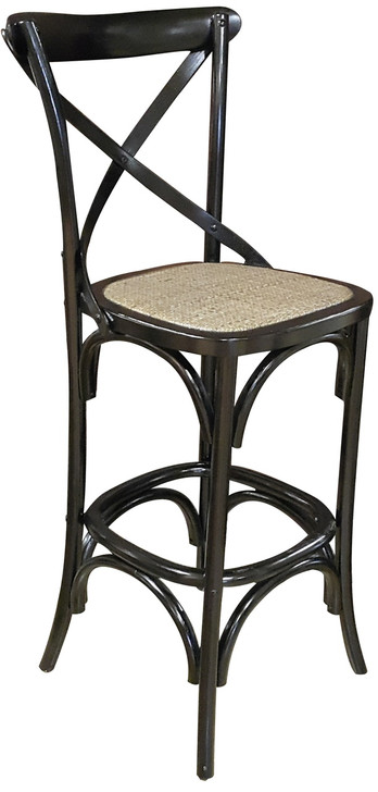 Allan Bar Chair in Black  - OUT OF STOCK
