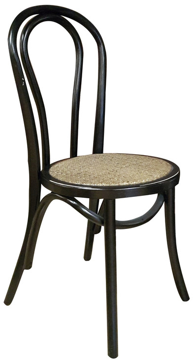 Bentwood Bistro Chair in Black