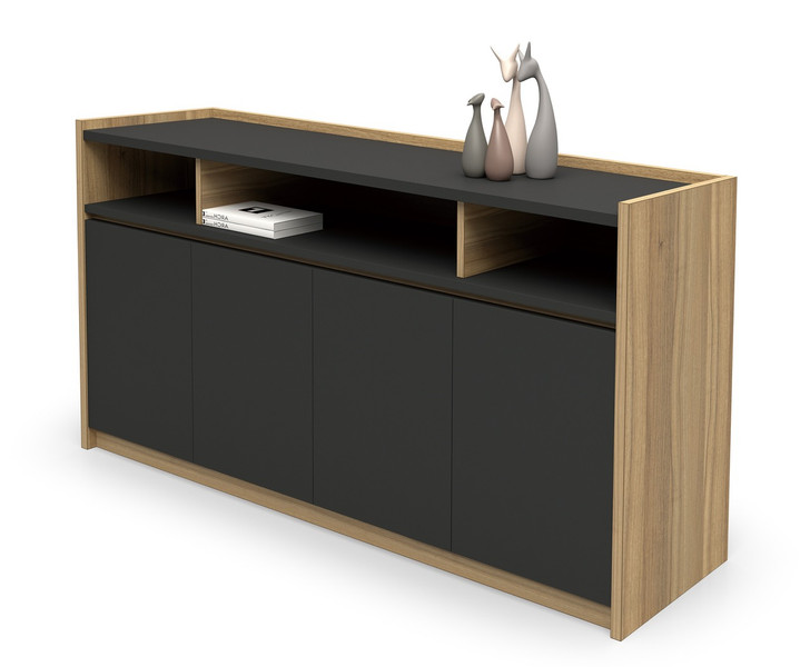 Brooklyn Credenza in Brown Oak