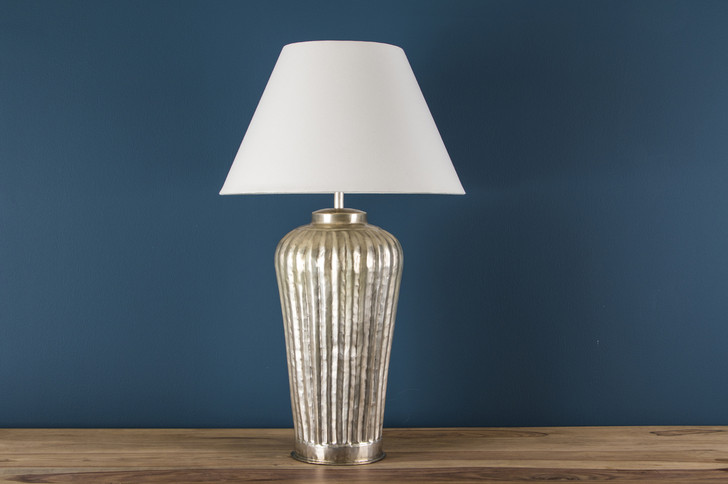 Table Lamp In Nickel Plated (L3435) - SOLD OUT