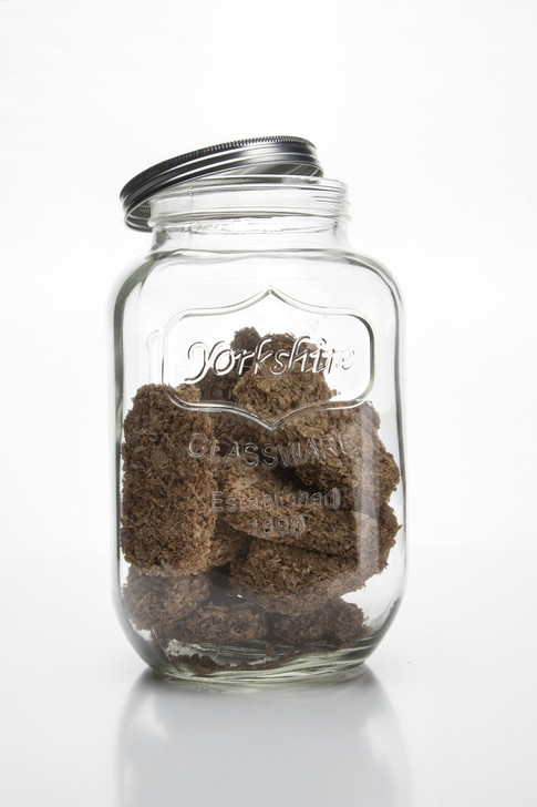 Retro Glass Jar With Screw Top Lid 4000ml - OUT OF STOCK