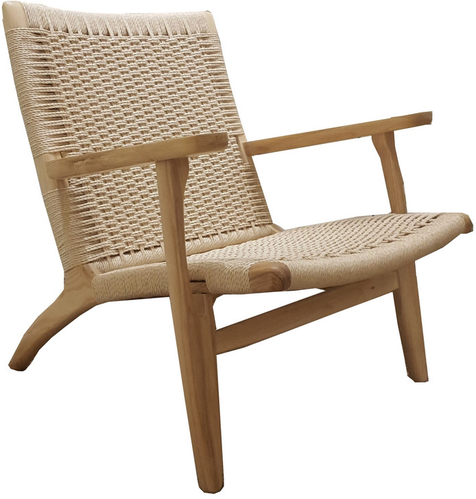 Kayla Easy Chair in Natural