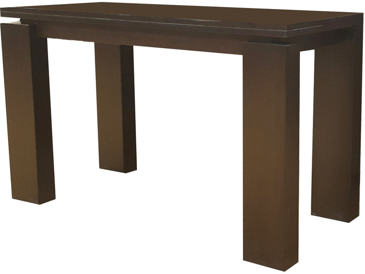 Lavinda Hall Table in Cappuccino