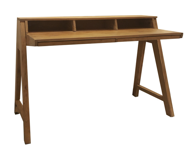Escape Writing Table In Acacia Wood - OUT OF STOCK