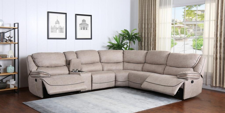 Sparta Corner Sofa in Buff