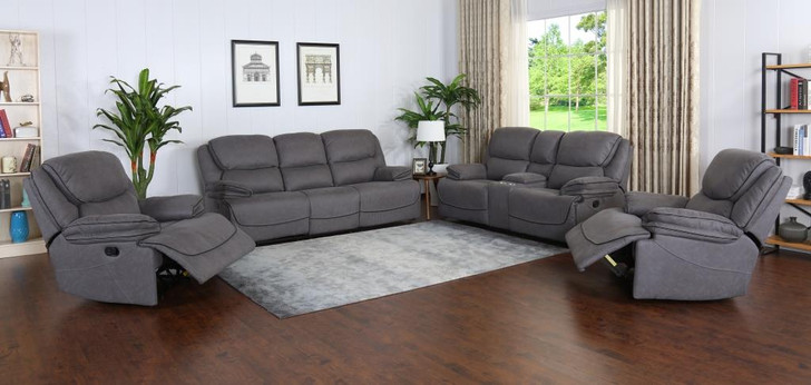 Sparta 7 Seater Recliner In Gray
