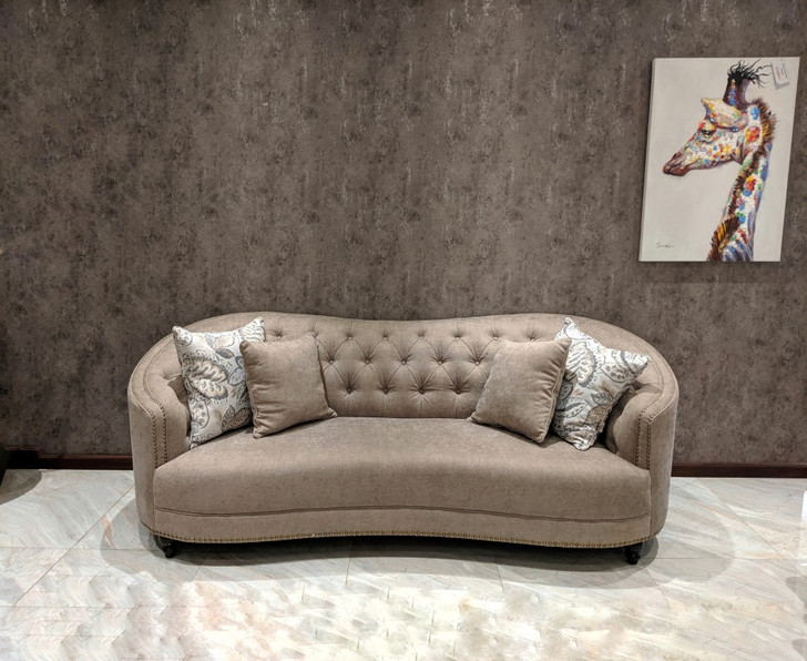 Calypso 7 Seater Tufted Sofa