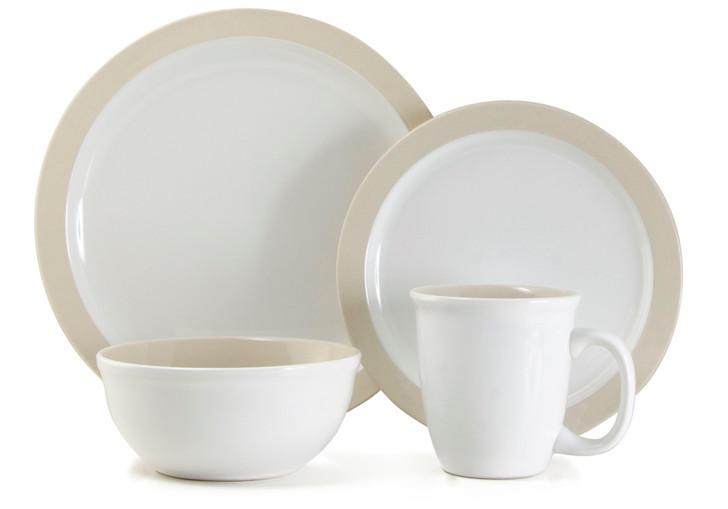 Thomson Pottery 16pc Dinner Set - Urban White
