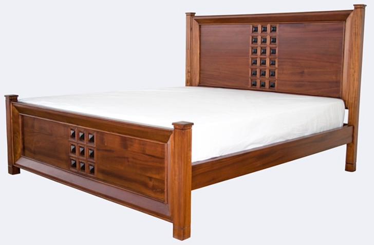 Barcelona Queen Bed (Also available as King size)