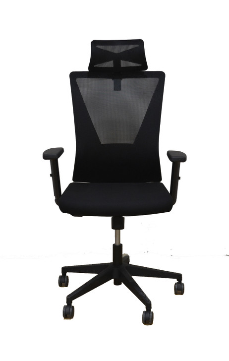 HB Chair HT-7068A - Full Black - OUT OF STOCK