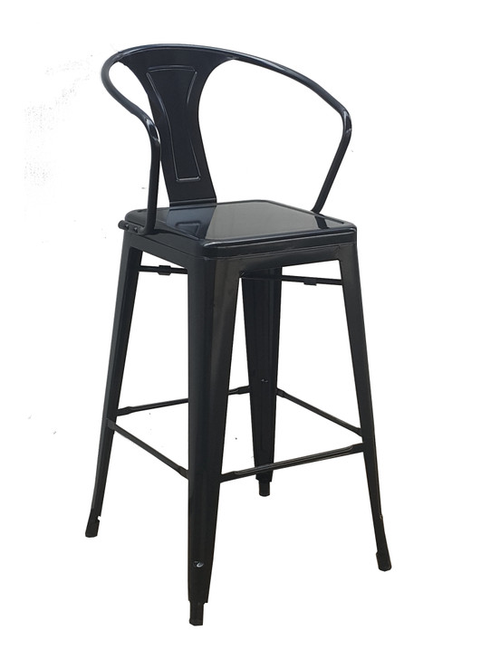 Tolix LB Bar Chair In Various Colours - OUT OF STOCK