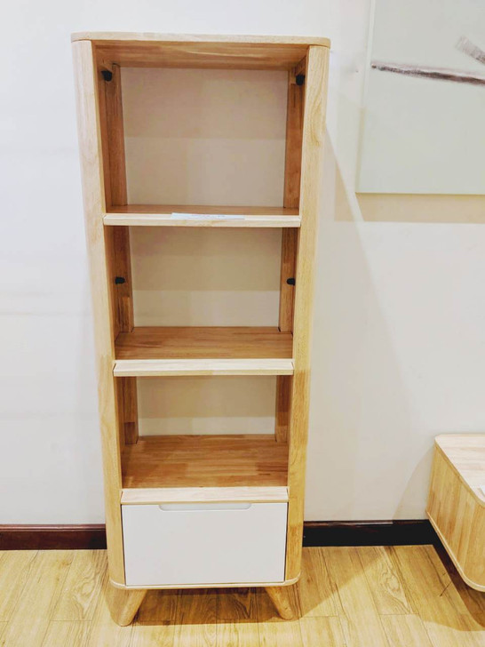 YG3605 1 Drawer 3 Colums Cabinet In Natural Option