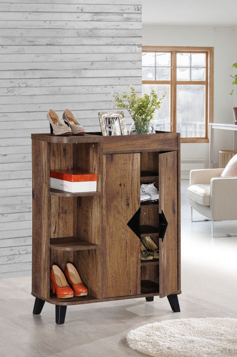 Texas Shoe Cabinet With 2 Doors - 0.8m - OUT OF STOCK