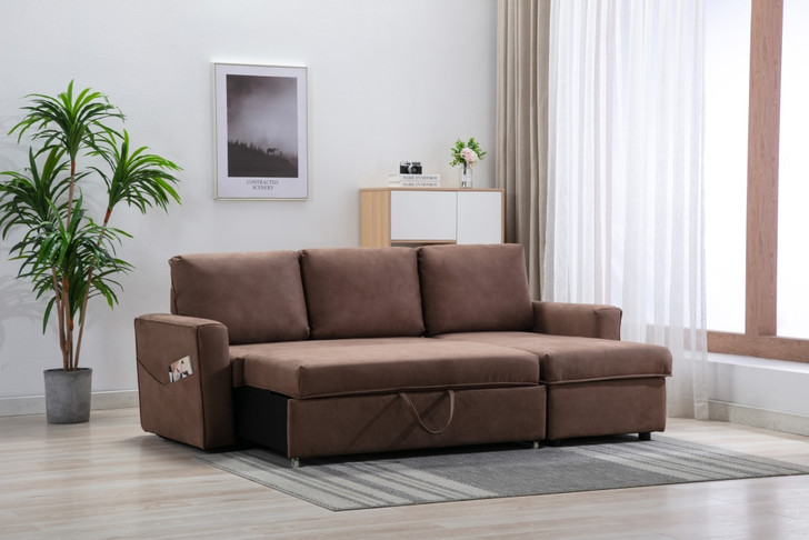 Mike Sofa Bed in Mocha