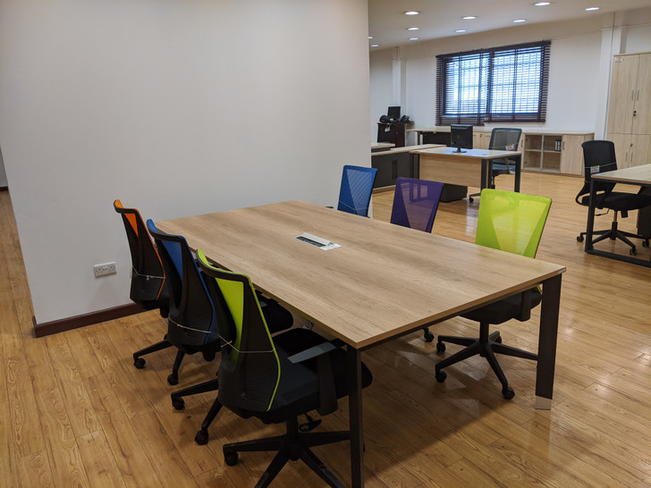 Coney Conference Table 3.2mx1.4m In MC02/Grey
