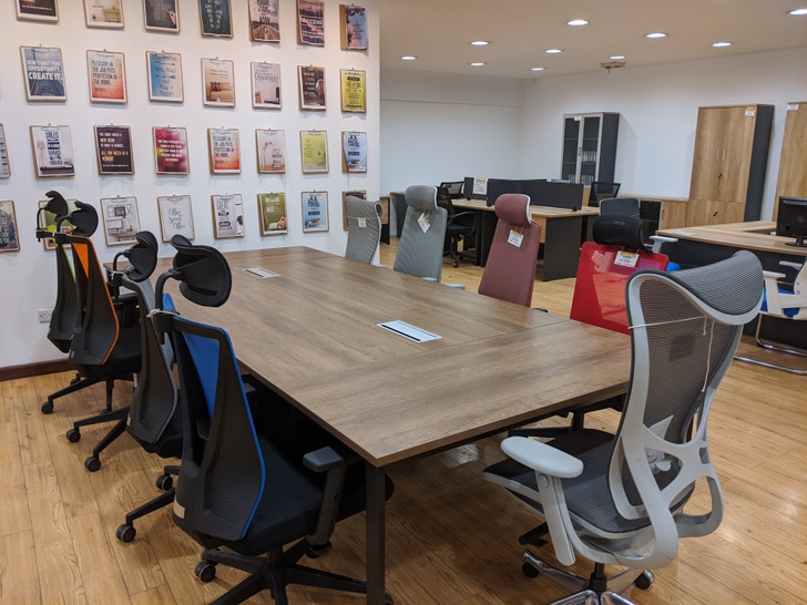 Brooklyn Conference Table 3.2mx1.4m In MC02/Grey
