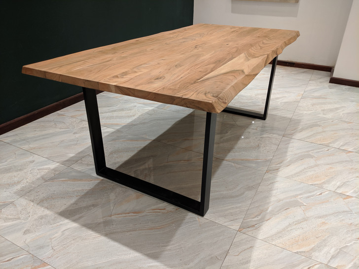 LAXMI - Live Edge Dining Table 2m x 1m
