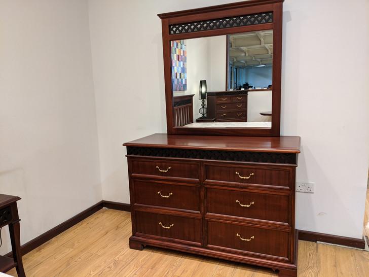 Manila Dresser With Mirror