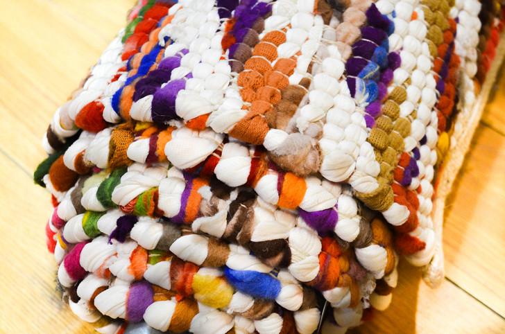 Wool & Waste Cotton Dhurrie  - 1.6m X 2.3m