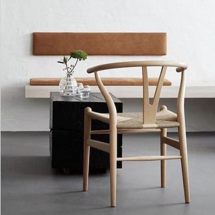 Wishbone Bistro Chair in Natural