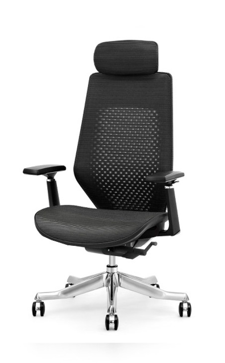 HB Chair Yogo In Black Mesh