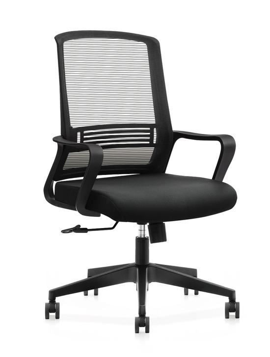 LB Chair U-Song-B In Black Mesh