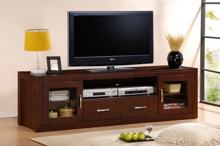 Albany Entertainment Unit in Ant Oak