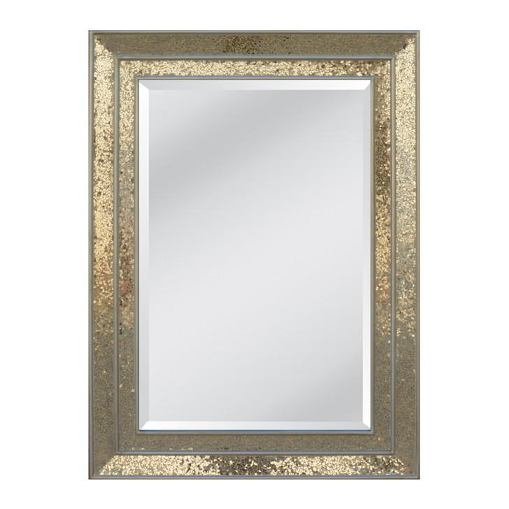 Champagne Frame with Bevel Mirror - OUT OF STOCK