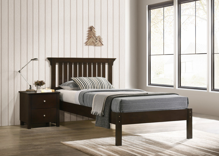 Imara Bed in Capuccino - Single