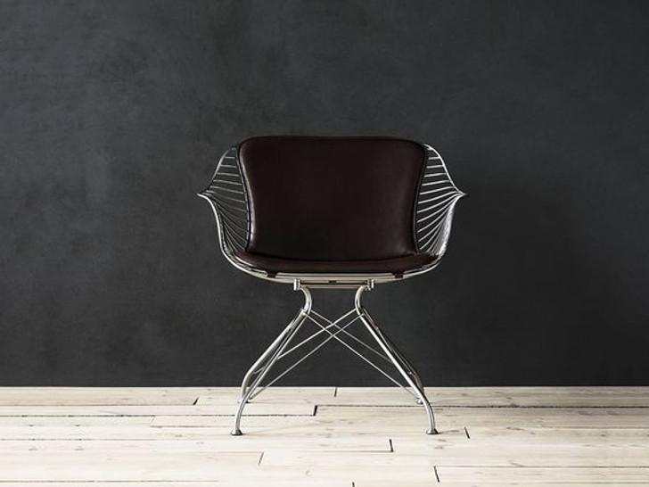 Replica O&D Wire Dining Chair - In Silver