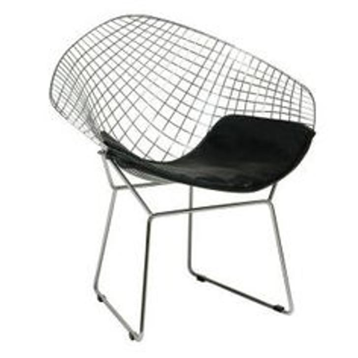 Replica Bertoia Diamond Chair In Silver