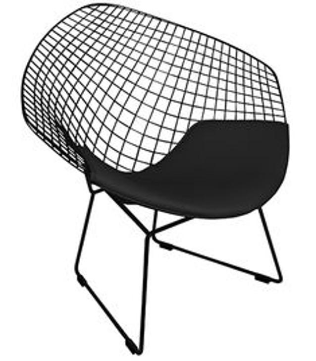 Replica Bertoia Diamond Chair In Black -OUT OF STOCK