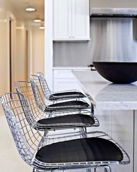 Replica Bertoia Bar Chair In Chrome-OUT OF STOCK