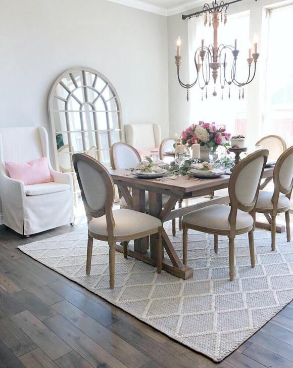 Louis Bistro Chair (Aged Elm)