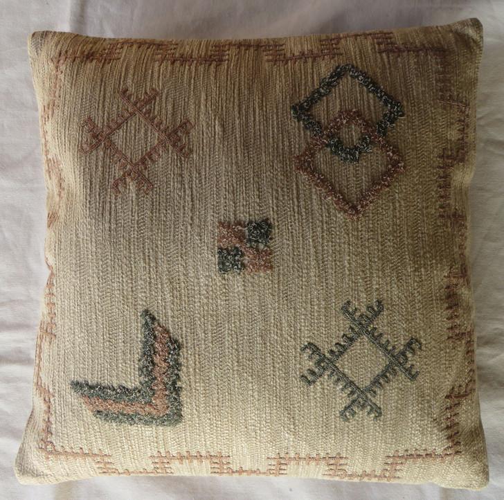 Hand Embroidered Cushion A3019 - 45x45 CM