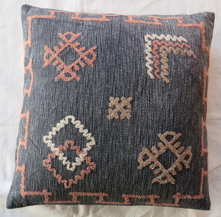 Hand Embroidered Cushion A3026 - 45x45 CM