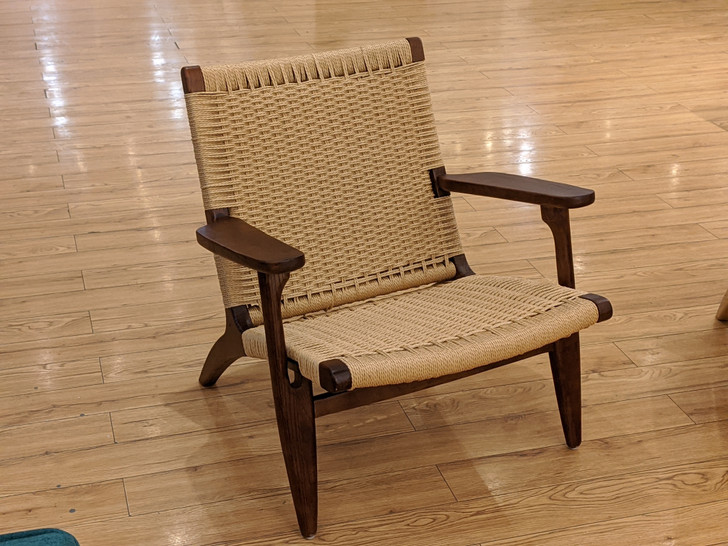 Kayla Easy Chair in Brown