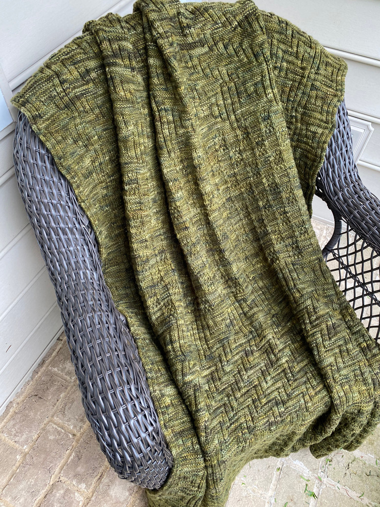blanket pattern download using heavy worsted weight yarn