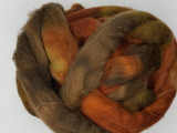 handpainted polwarth combed top - great for hand spinning