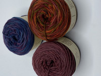 cakes for color work, yokes, hats, mitts - aran weight
