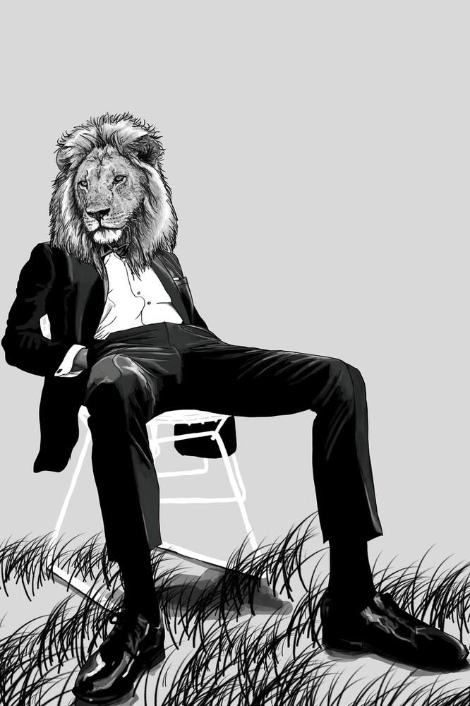 The Coolest Lion