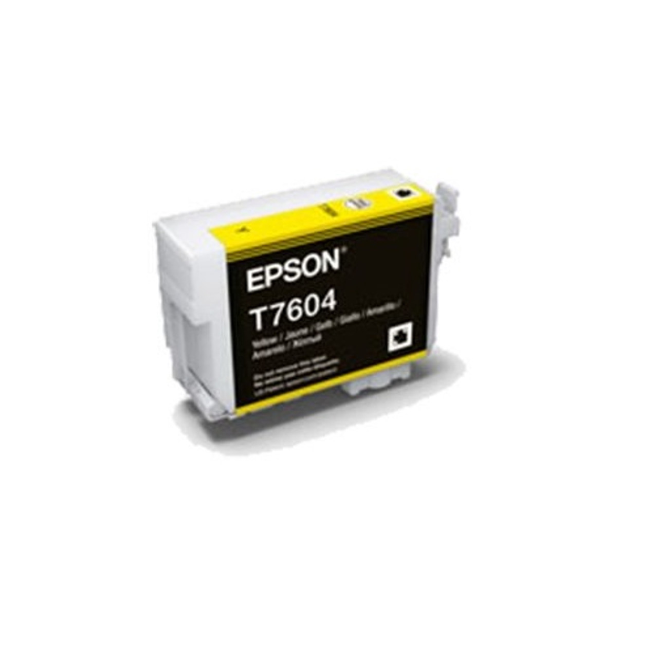 EPSON C13T760400 T7604 INK CARTRIDGE ULTRACHROME HD YELLOW
