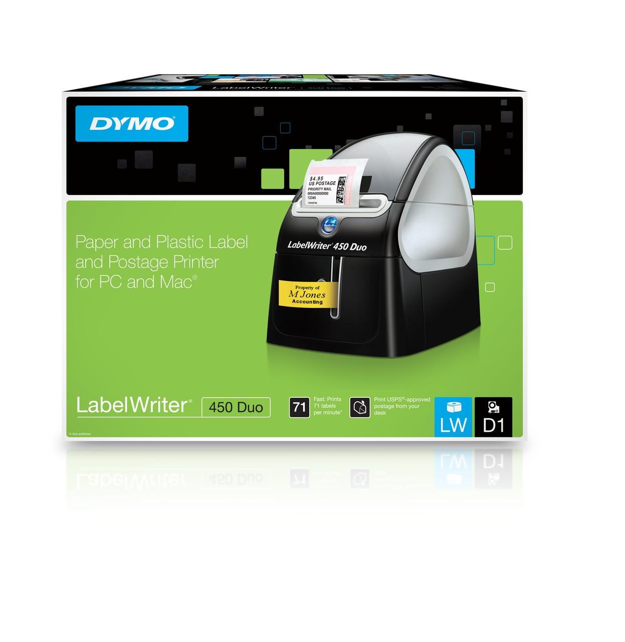 DYMO #SD0840390 LABELWRITER 450 DUO MACHINE LW450DUO (EACH)
