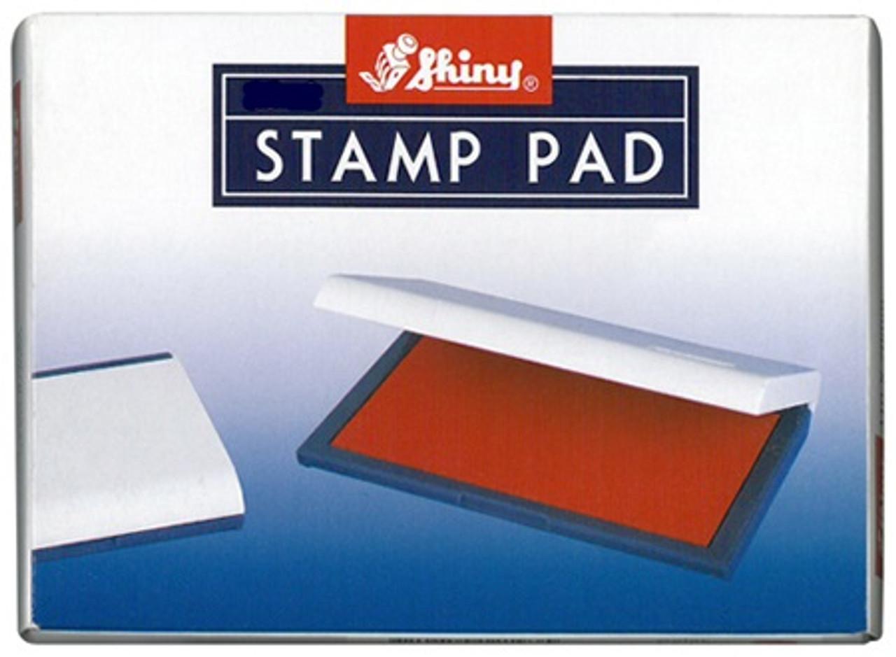 5 Star Stamp Pad 110x70mm Black//Blue